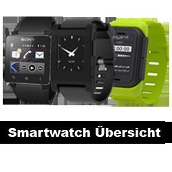 Smartwatch Übersicht