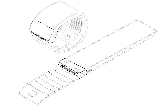 Konzept der Samsung Smartwatch
