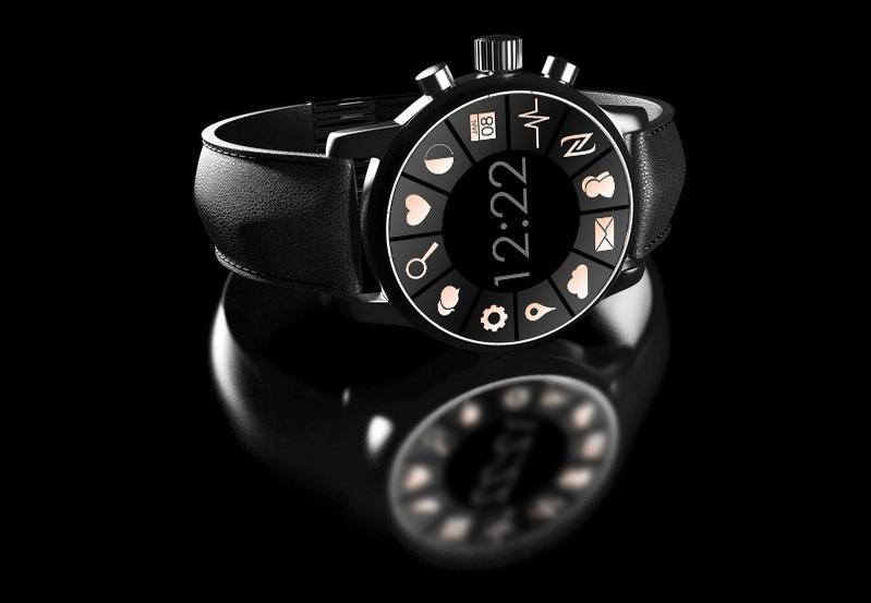 Kombination aus mechanischer Armbanduhr und Smartwatch